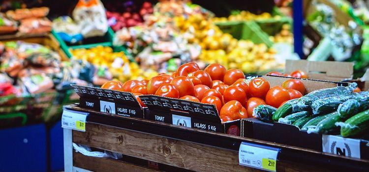 Продажа продуктов питания в Небуге