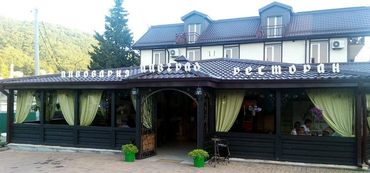 Ресторан «Пивград» в Небуге